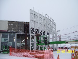Western Pennsylvania Contractor KACIN's Toyota of Greensburg Service/Showroom Renovation and Expansion Project
