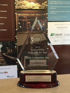 Engineers' society of western pennsylvania 2015 Edgewater award